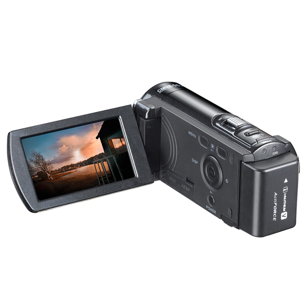 Camcorder Full HD 1080P Digital Video Camera 3.0 Inch TFT Screen 16x Digital Zoom Mini Camcorder Voice Vedio Recorder Best Gifts