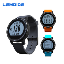 LEMDIOE Deportes Del Ritmo Cardíaco de Bluetooth Reloj Inteligente S200 IP67 A Prueba de agua Banda de Fitness Inteligente Rastreador Smartwatch Pulsera Inteligente