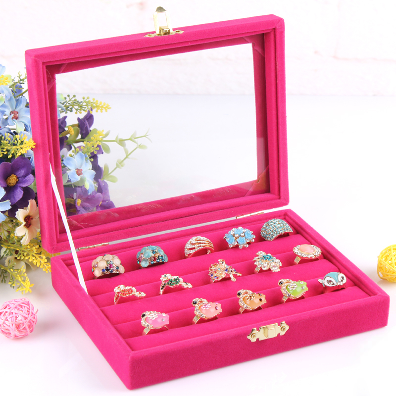 Wedding Gift Storage Box : box plate stud earring earrings storage box ring wedding gift ...