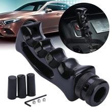 New Arrival 1 pc Universal Black Pistol Grip Handle Manual Gear Stick Shift Knob Shifter Lever