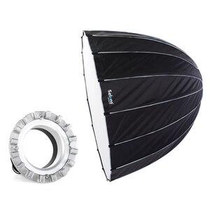 Софтбокс с шестигранным зонтиком Selens 120 см для студийной вспышки Bowens/Balcar/Elinchrom с сумкой для переноски