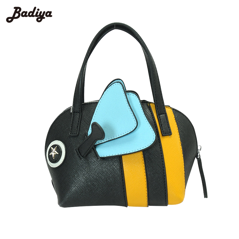 New Handbags for Women Designer Shell Bags Patchwork Wings Charms Stars Cute Shoulder Sac Straps Female Messenger Bags Bolsa