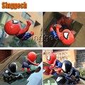 1X Car Styling 3D Pegatinas de Spiderman Para Peugeot 307 206 308 407 207 2008 3008 508 406 208 Para Citroen C2 C3 C4 C5 accesorios