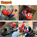 1X Car Styling 3D Spiderman Stickers For Peugeot 307 206 308 407 207 2008 3008 508 406 208 For Citroen C4 C5 C3 C2 Accessories
