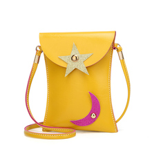 Mini Shoulder Bag Cute star moon Messenger Bag Women Kids All-Match Key Coin Purse Cartoon Lovely Handbags Simple girl Clutch