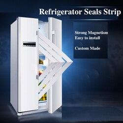 Uszczelka lodówki zamrażarka magnetyczna taśma uszczelniająca uszczelka do drzwi wykonana na zamówienie biała szara