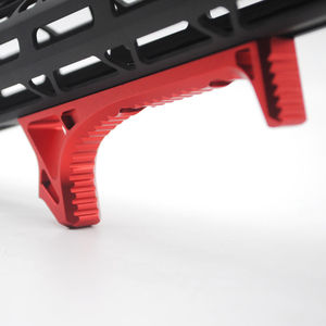 Image 5 - Aplus Black/Red Color_Aluminum Handstop Tactical M lok Style Hand Stop Kit Ultralight Anoidzed Free Shipping