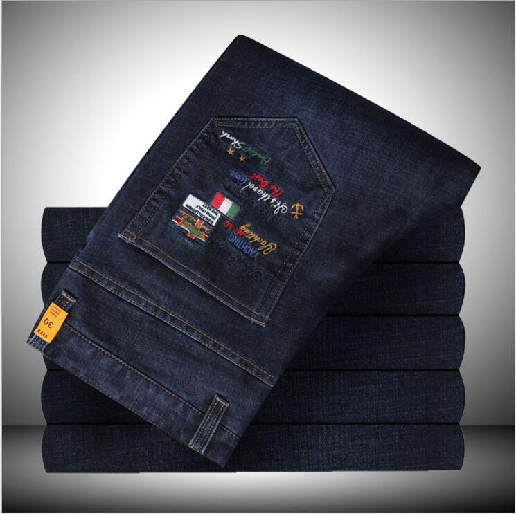 15901 section of thick section - shark jeans men s cotton autumn new thick section in the waist casual autumn and winter straig