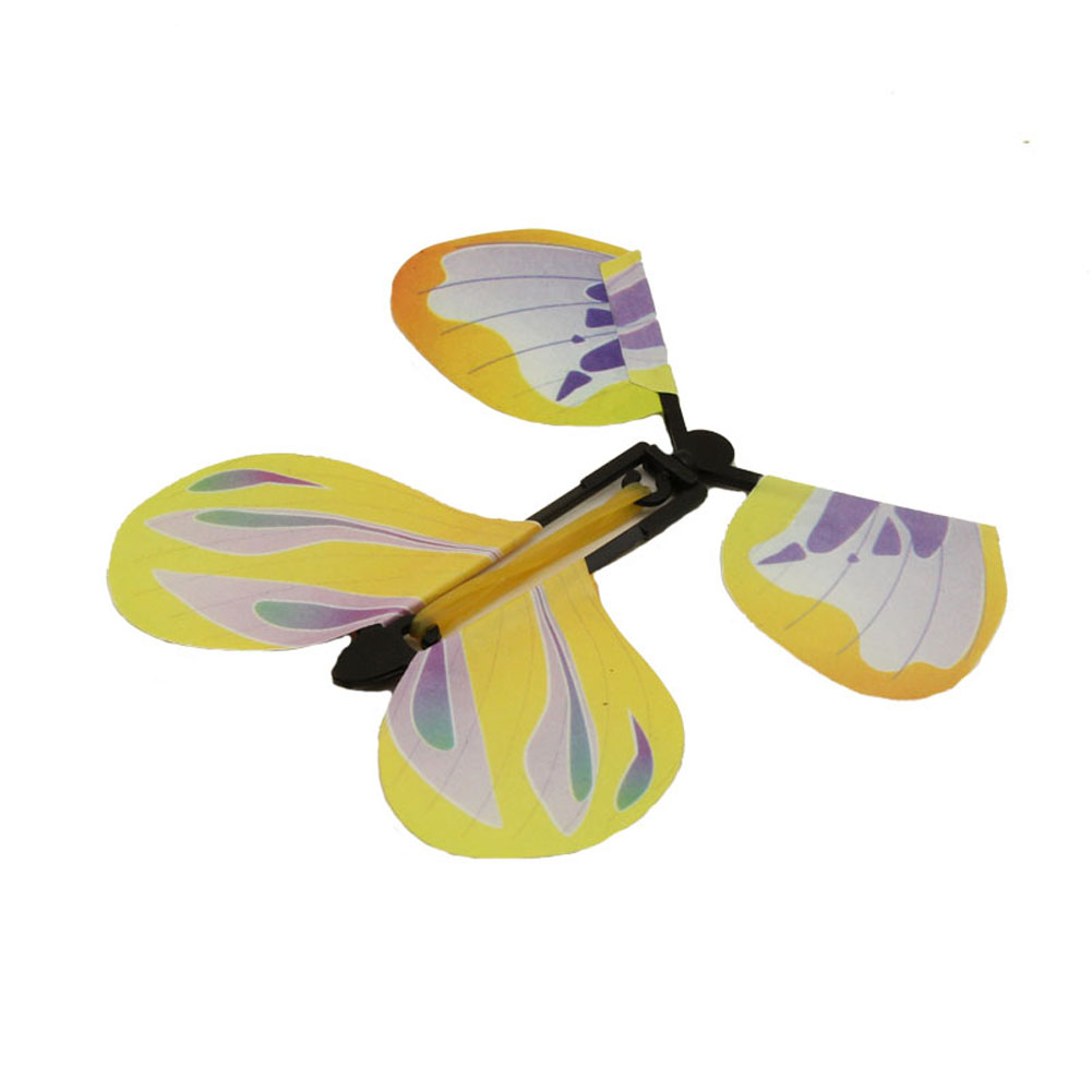 5pcs Magic Hand Transformation Fly Butterfly Tricks Props Surprise Prank Toys YH-17