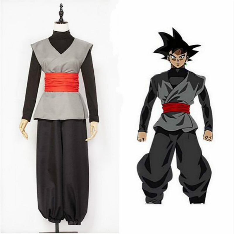 Anime Dragonball Z Dragon Ball Super Son Goku Black Zamasu Cosplay Costumes Kai Super Saiyan Outfit For Men Boys Adult Halloween