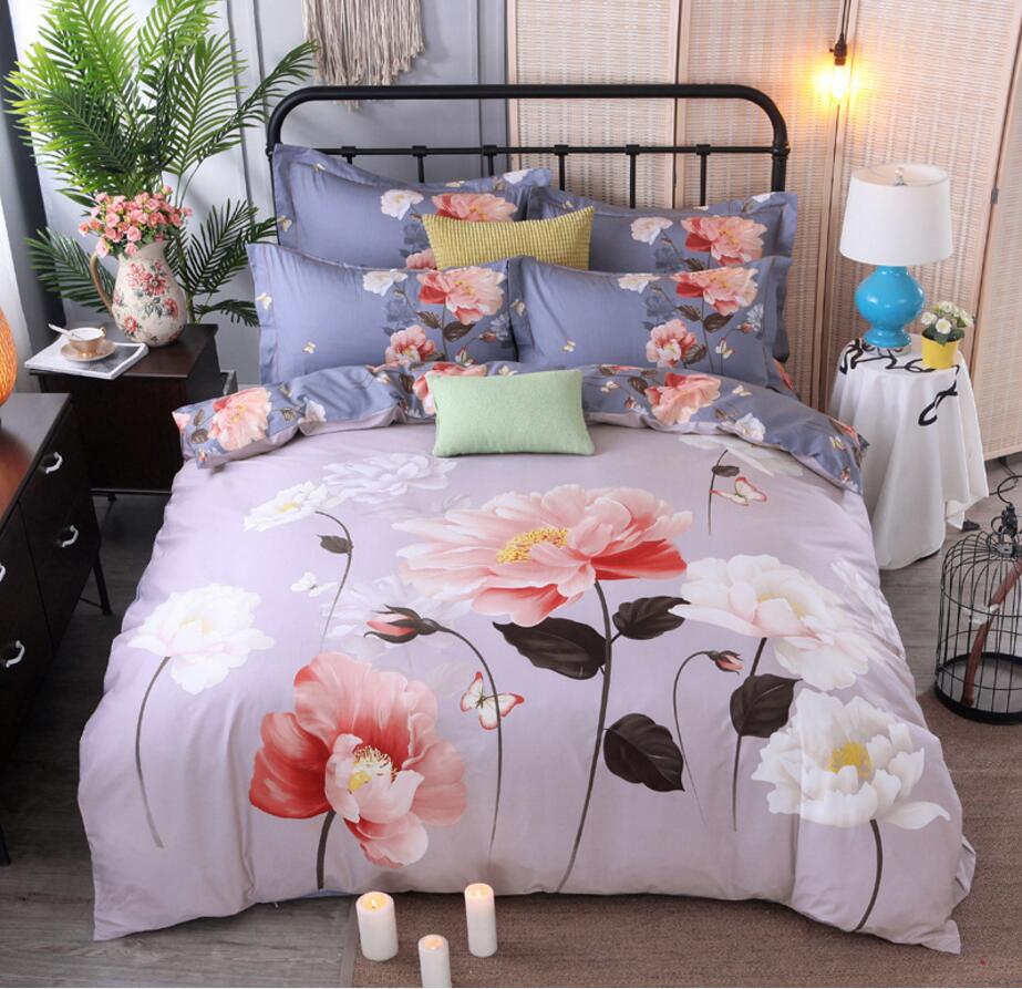 Home Textiles Bedding Sets Cotton 4pcs