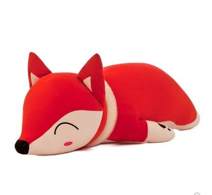 35/50cm/60cm/70cm/90cm Kawaii Dolls Stuffed Animals Fox Plush Toys For Children Birthday  Plush Pillow Gift