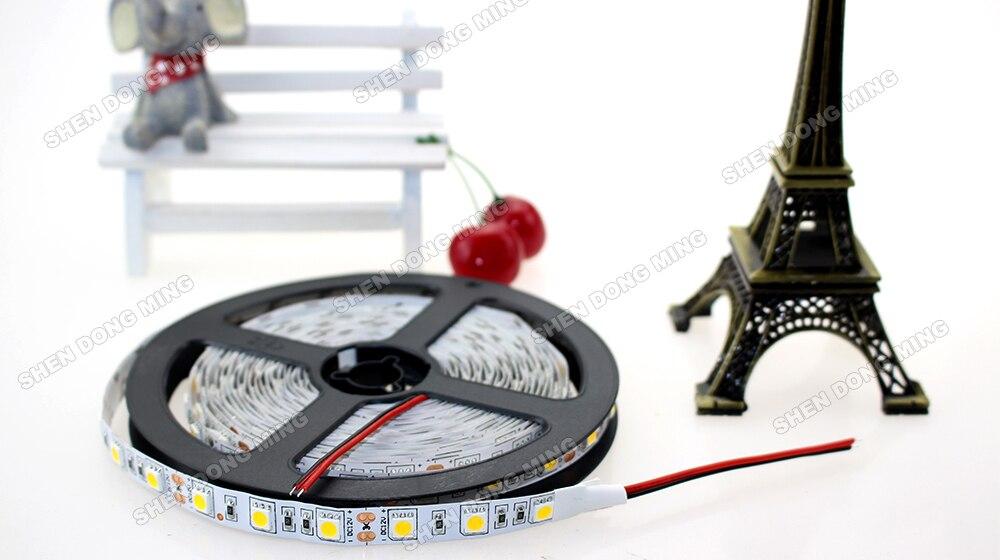 Заводская цена 50 м/лот RGB 60leds/M Изменение цвета светодиодные полосы 5050 led ленты Газа в помещении с помощью велосипеда, TV автомобиль прокладки