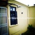 YP100360 100x360 cm 39x140in jardim no terraço superior quente ao ar livre usado janela e porta dossel toldo em policarbonato, porta toldo
