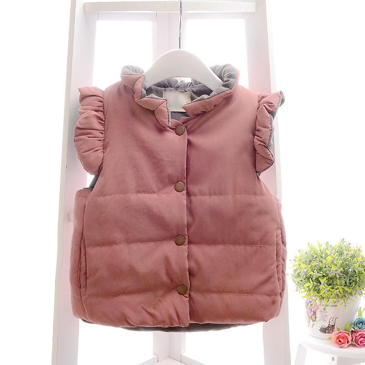 Red dress toddler girl vest