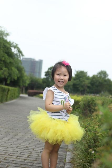 Recién nacido infantil del bebé del tutú falda apoyos de la fotografía de color rosa las muchachas del tutú-muchachas Tutu - Baby Shower regalo adapta a 0-24 meses