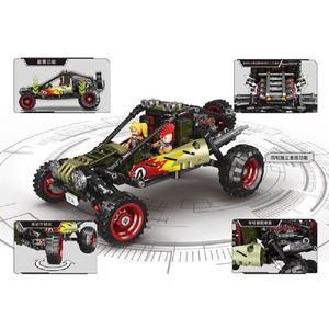 Image 4 - סופר רכב טנדר SUV למבוגרים מיני אבני בניין פאזל עצרת דגם צעצוע קשה בני