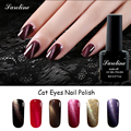 Saroline Color Change Cat Eye Gel Polish Soak off Nails Manicure Art professional 3D Magnetic Cat Eye Lucky Nails Gel