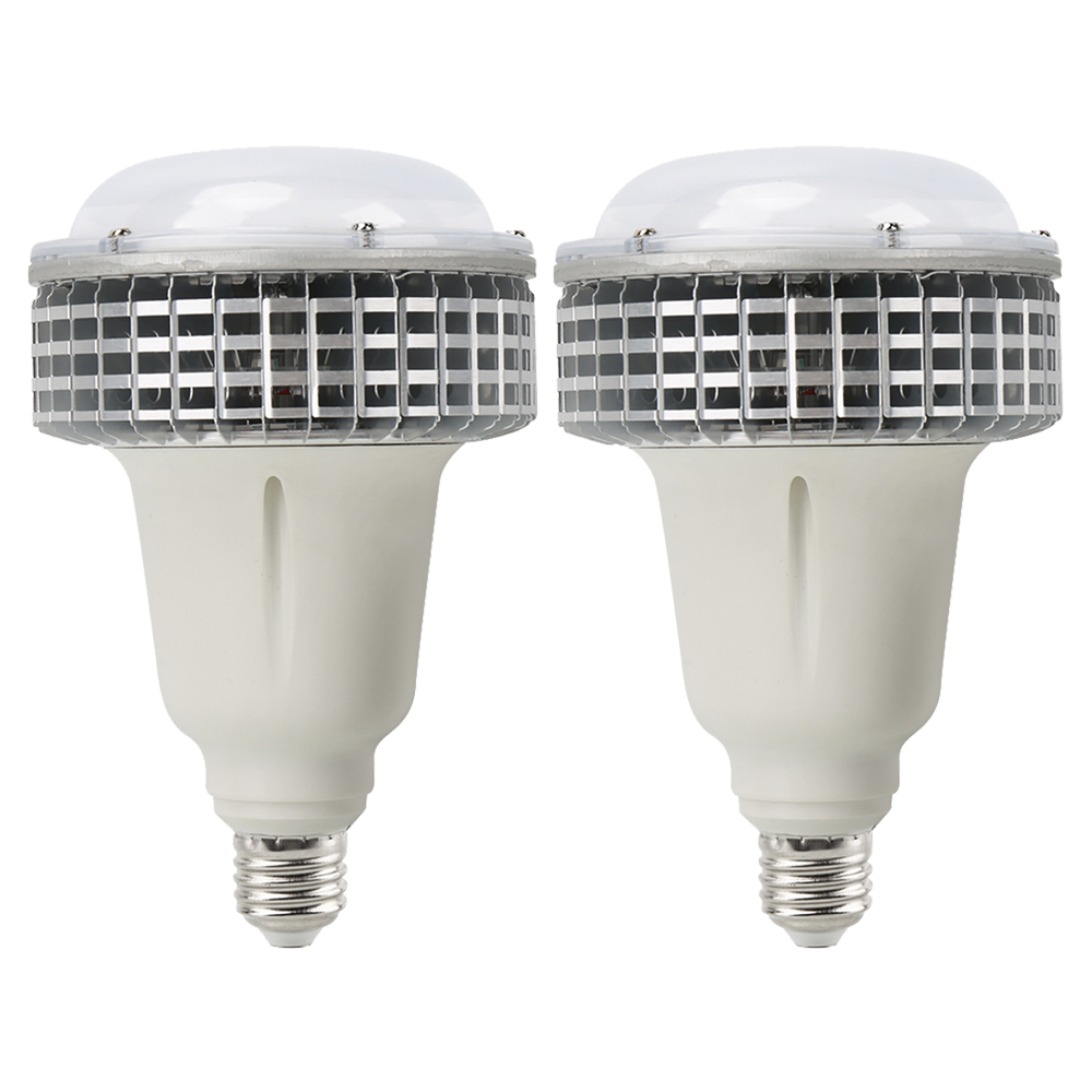 [2/Pack] E27 100W LED Grow Light Full Spectrum AC85 265V Horticulture Grow Lamp for indoor Garden Greenhouse Hydroponics System|LED Grow Lights| |  - title=