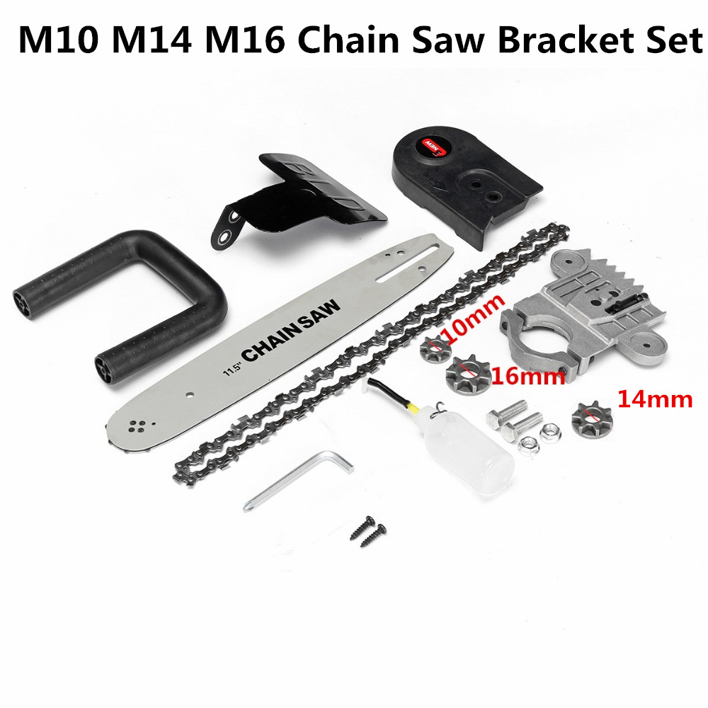 Drillpro Chainsaw Bracket Tool Set For Angle Grinder