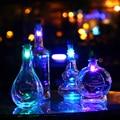 2017 Hot Selling Green Night Light Cork Night Light Celebration Lights Decorative Night Light USB Power Charging Lamp