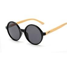 New arrival Wood Sunglasses women ROUND sun glasses bamboo sunglasses for women men Mirror eyewear Oculos de sol masculino