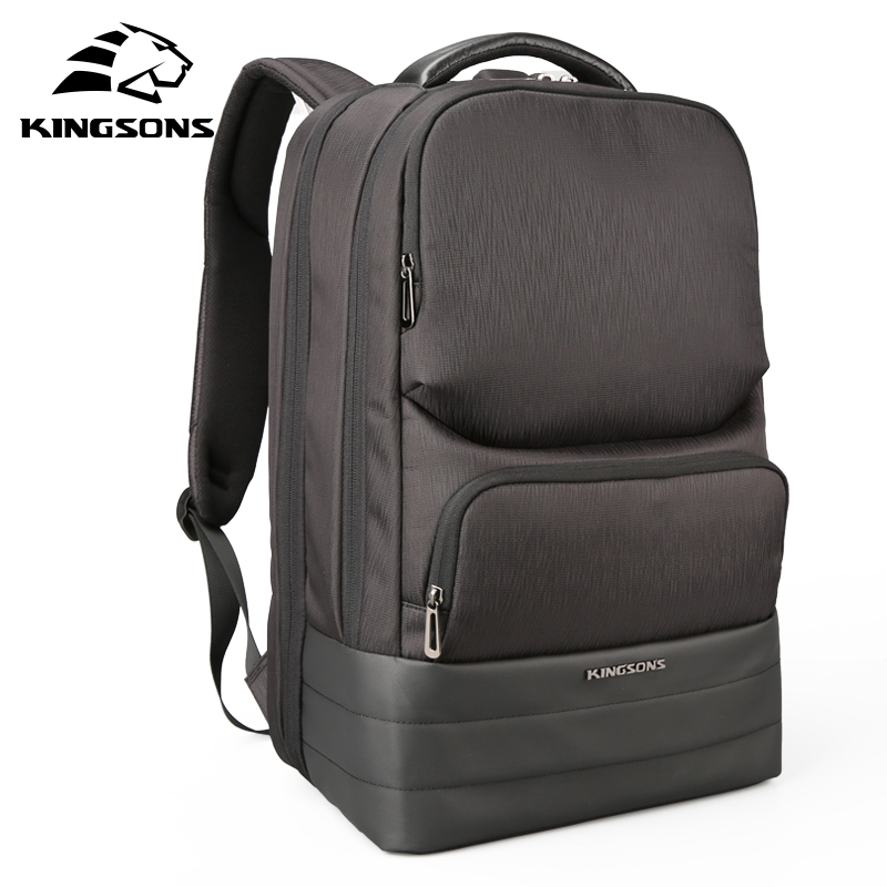 Kingsons 15 6 inch Large Capacity Laptop Backpack Men s Business Travel Backpack Student Bag Water