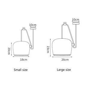 Image 5 - 북유럽 성격 DIY 스파이더 펜던트 램프 화이트 또는 블랙 드럼 그늘 펜던트 라이트 현대 조절 교수형 드럼 전등
