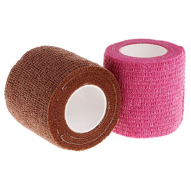 10Pcs 5cm Disposable Tattoo Self-adhesive Elastic Grip Bandage Wrap Sport Tape Body Art Tattoo Accesories 3