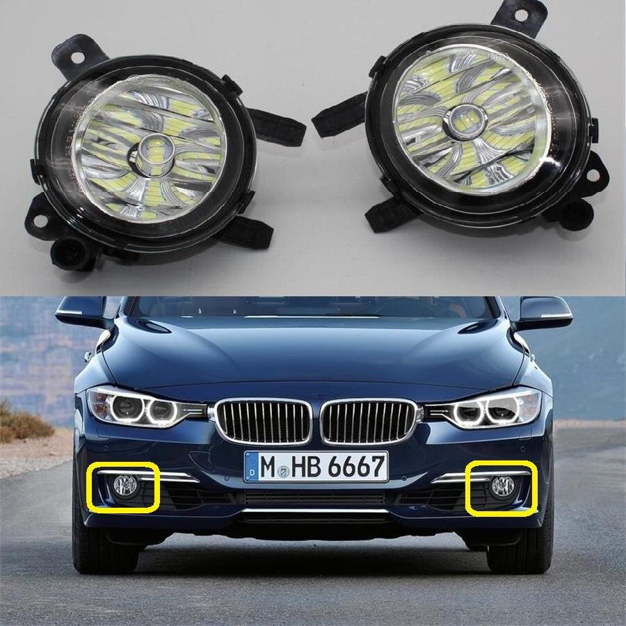 Car LED Light For BMW 3 Series F30 F31 F34 320i 328i 328d 335i 2012 2013 2014 2015 2016 Car-Styling Front LED Fog Light Fog Lamp front kidney grille bumper grill for bmw f30 f31 f35 320i 328i 335i 2010 2011 2012 2013 2014 glossy black car styling p356