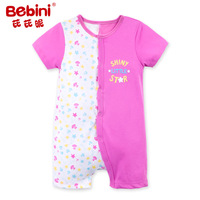 Bebini Quality Baby Girl Print Flower Rompers Infant Girl Floral Rompers Newborn Baby Girl Gift Toddle