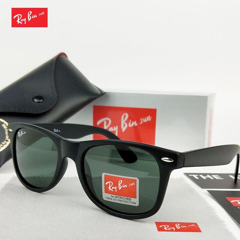 Ray Bin sol gafas de sol hombre gafas de sol de las mujeres polarizado gafas de sol de conducir espejos punto gafas de Moda hombre mujer gafas UV400