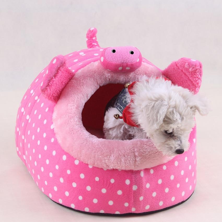 جميل مضحك الوردي خنزير لينة كلب صغير - منتجات الحيوانات الأليفة