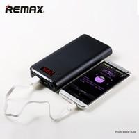 REMAX Dual USB LED Light Portable 10000 30000 Mah Powerbank High Capacity Power Bank External Mobile