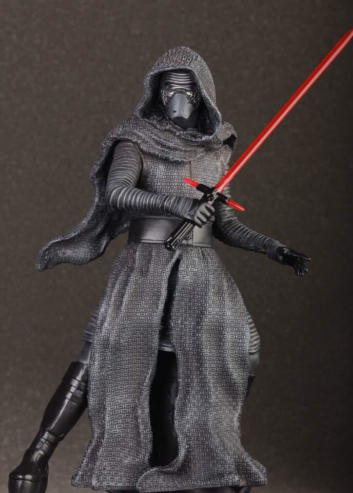 Chanycore Anime Star Wars:The Force Awakens Kylo Ren 24cm Action Figure Collection Model For Kid Gifts 1067