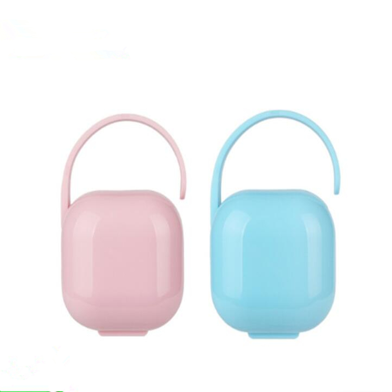 Portable Baby Baby Nipple Nipple Suitcase Small Apple Shape Storage Box Baby Pacifier Container Holder Pacifier Dummy Box