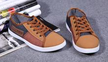Hot men's shoes to help low Trend denim casual shoes Male canvas shoes