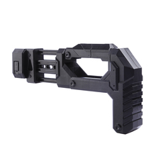 Inlay Type Soft Bullet Blaster Parts Stock For Nerf Modification outdoor modified replacement Accessories - Black