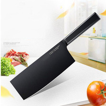 Hot sale kitchen knife 8 inch chef knife made of 7CR17 stainless steel and color wood handle multipurpose high-end cooking tools