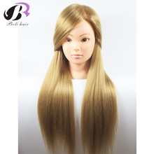 Dummy Mannequin Head 26'' Hair Training Mannequin Head For Hairdressers High Quality Professional Styling Head