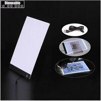 Dimmable Ultra Thin A4 LED Light Tablet Pad Apply To EU UK AU US USB Plug