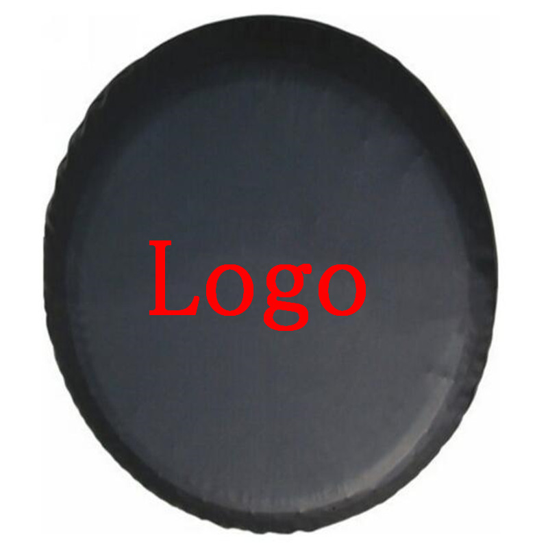 1Pcs Car 14inch 15inch 16inch 17   Inch Heavy-Duty PVC Leather Spare Tire Cover Case Protector Bag Pouch For Suzuki Logo Cars Accessories