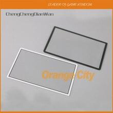 Chengchengdianwan 3ピース/ロット交換部品3DS ll/3DS xlトップアッパー液晶画面フロントプラスチックカバー