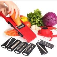 Manual Vegetable Cutter Mandoline Slicer Carrot Grater Julienne Potato Cutter Fruit Vegetable Tools Kitchen Accessories 6 Blades