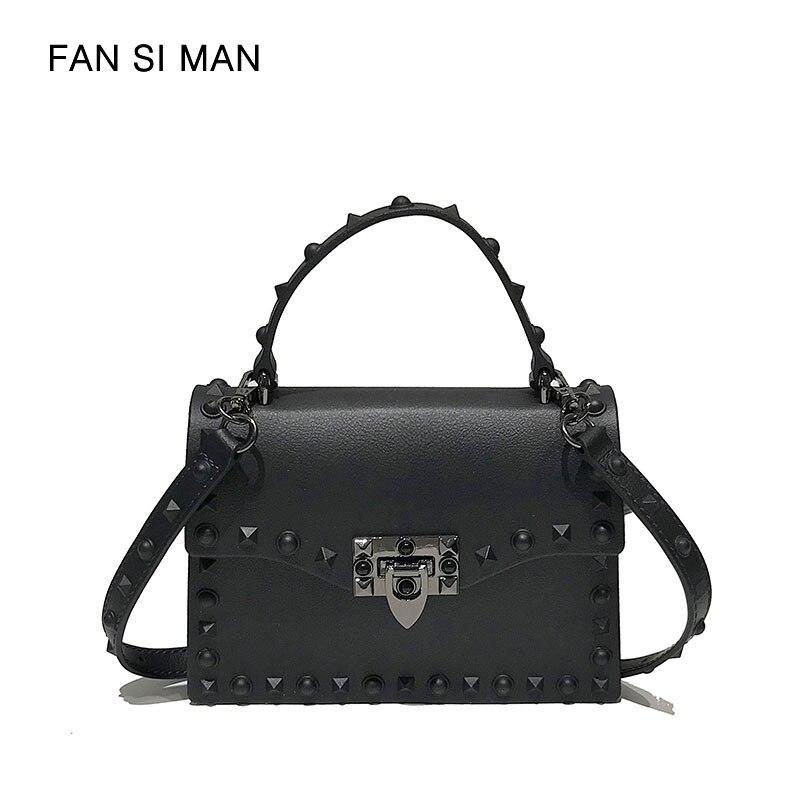 Fansiman 2018 New Pu Leather Flap Women Messenger Bags Shoulder Bag Female Crossbody Bags Lady Handbags