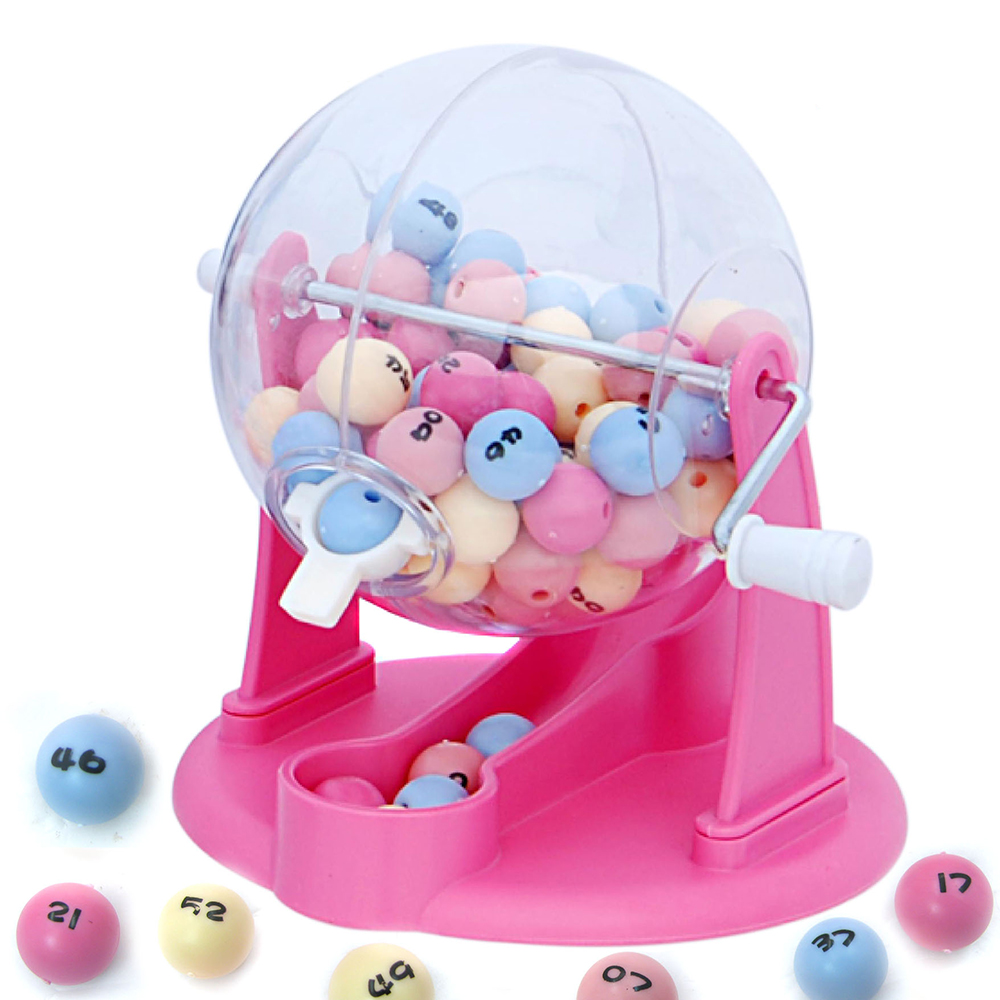 64 Balls Lottery Machine Bingo for Public Performance Draw Machine Lucky Balls Game