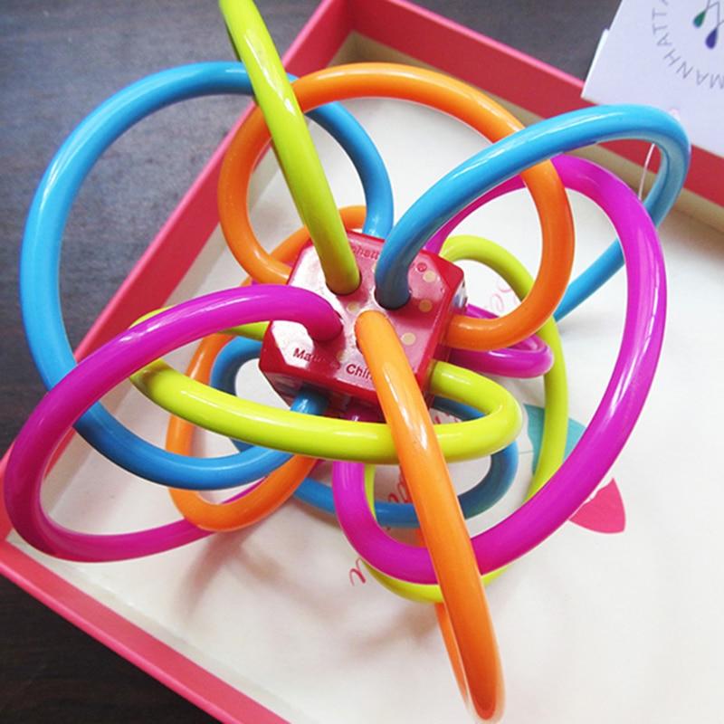 manhattan toy  3~12 Months Baby Fun Bell Ball Manhattan Toy Winkel Rattle Sensory ...