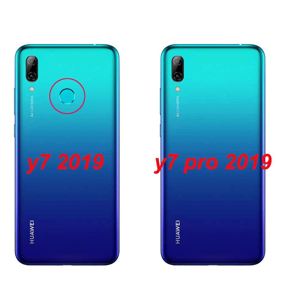 Huawei Y7 2019 etui do telefonu Huawei Y7 Prime 2019 krzemu etui z termoplastycznego poliuretanu miękki telefon etui na Huawei Y7 2019 Y 7 Y7Prime Y7 Prime 2019 przypadku