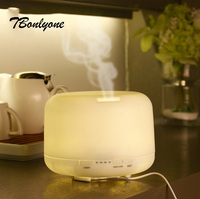 TBonlyone 500ML Rice Cooker Humidifier Ultrasonic Air Humidifier Color Lights Changing Essential Oil Aroma Diffuser For