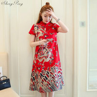 Chinese traditional dress 2018 new design chinese oriental dresses traditional oriental dress women oriental style dresses V986